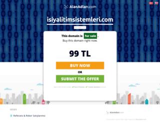 isiyalitimsistemleri.com screenshot
