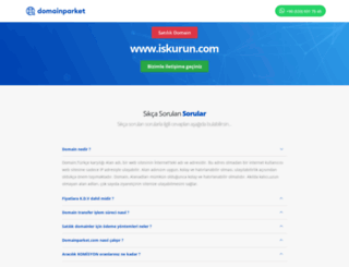 iskurun.com screenshot