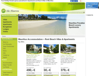 isla-mauricia.com screenshot
