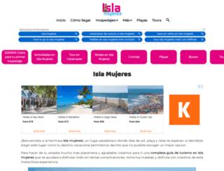 isla-mujeres.com.mx screenshot