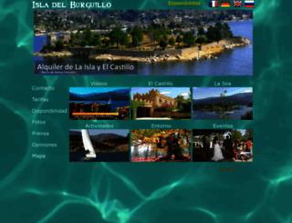 isladelburguillo.es screenshot