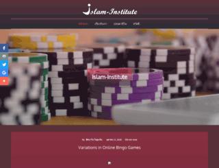 islam-institute.com screenshot