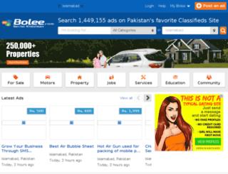 islamabad.bolee.com screenshot