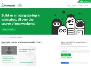 islamabad.startupweekend.org screenshot