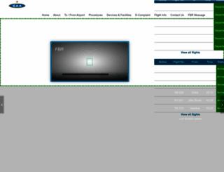 islamabadairport.com.pk screenshot
