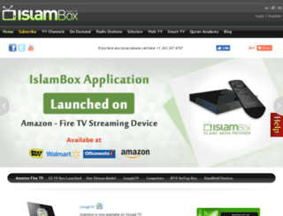 islambox.tv screenshot