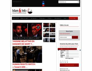 islametinfo.fr screenshot
