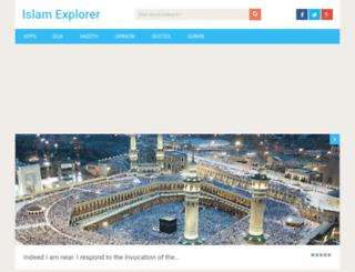 islamexplorer.info screenshot
