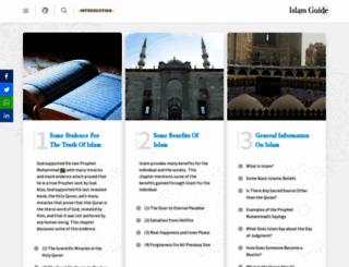 islamguide.com screenshot