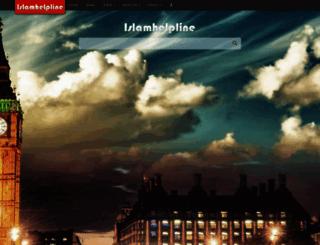 islamhelpline.net screenshot