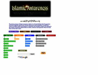 islamic-awareness.org screenshot