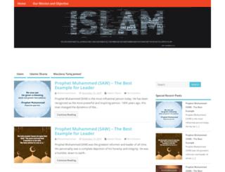 islamic-sharias.com screenshot