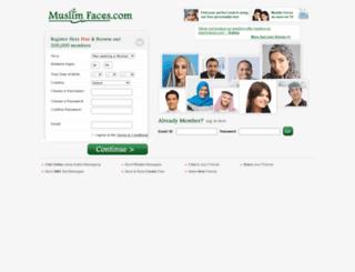 islamicfaces.com screenshot