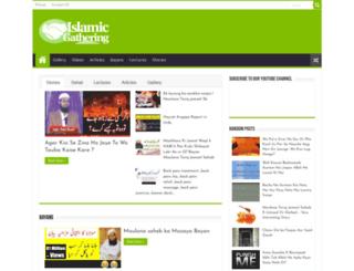 islamicgathering.com screenshot
