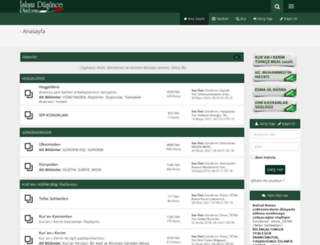 islamidusunce.net screenshot
