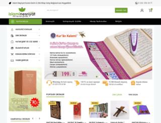 islaminesriyat.com screenshot