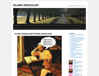 islamingercekleri.wordpress.com screenshot