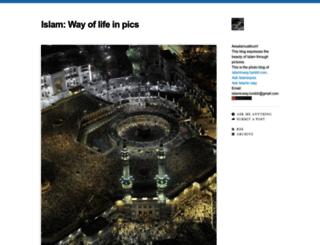 islaminpics.tumblr.com screenshot