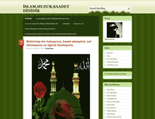 islamisite.wordpress.com screenshot