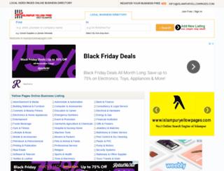 islampuryellowpages.com screenshot