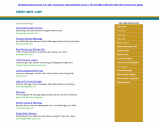 islamrank.com screenshot