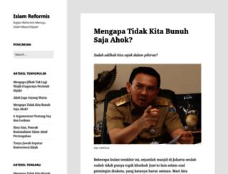 islamreformis.wordpress.com screenshot