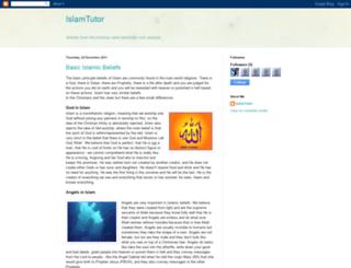 islamtutor.blogspot.com screenshot