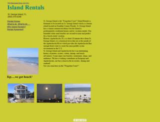 island-rentals-st-george.com screenshot