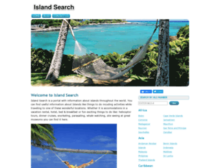 island-search.com screenshot
