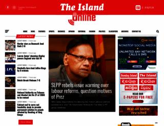 island.lk screenshot