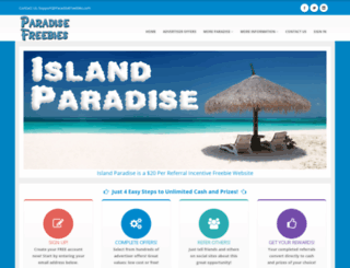 island.paradisefreebies.com screenshot