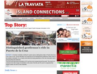 islandconnections.eu screenshot