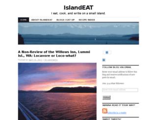 islandeat.wordpress.com screenshot