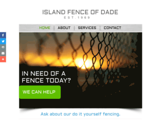 islandfence.com screenshot