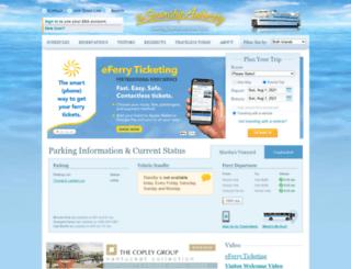 islandferry.com screenshot