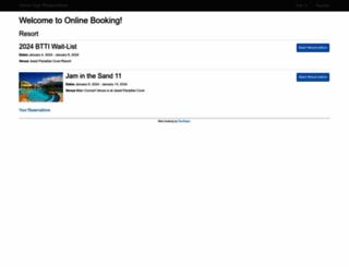 islandgigs.rezmagic.com screenshot