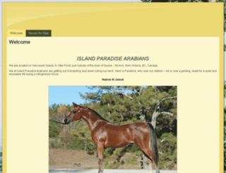 islandparadisearabians.com screenshot