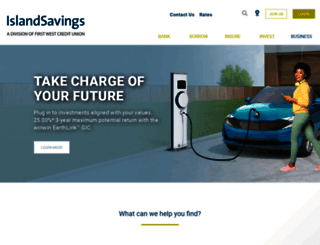 islandsavings.ca screenshot