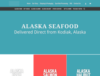 islandseafoods.com screenshot