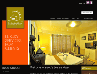 islandsleisurehotel.com screenshot