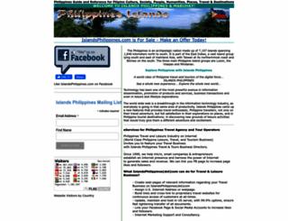 islandsphilippines.com screenshot