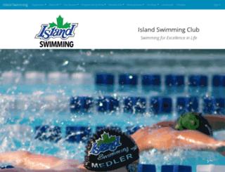 islandswimming.com screenshot