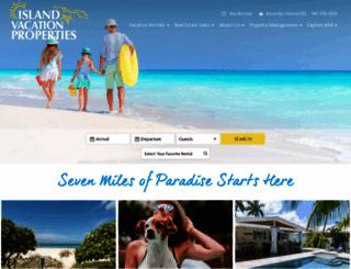 islandvacationproperties.com screenshot