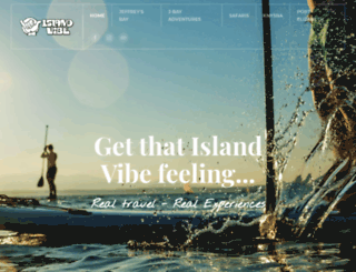 islandvibe.co.za screenshot