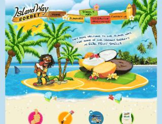 islandwaysorbet.com.au screenshot