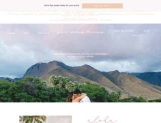 islandweddingmemories.com screenshot