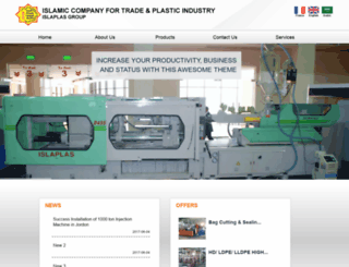 islaplastic.com screenshot