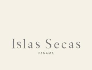islassecas.com screenshot