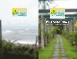 islavirginia.com screenshot