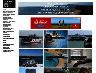 isleofwightguru.co.uk screenshot